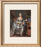 Madame Pompadour, 1755 Posters by Maurice Quentin de La Tour