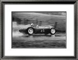 Grand Prix of Belgium 1955 Print by Jesse Alexander