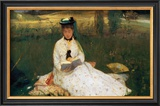 Reading Prints by Berthe Morisot