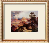 Clouds in the Canyon Print by Thomas Moran