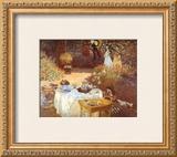 Le Dejeuner Poster by Claude Monet