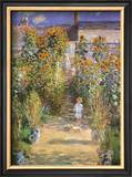 Garden at Vetheuil, c.1881 Posters by Claude Monet