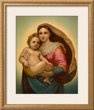 Madonna Poster by  Raphael