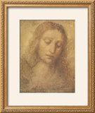 Christ's Head Prints by  Leonardo da Vinci