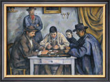 The Card Players, 1890-1892 Poster by Paul Cézanne