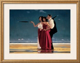 The Missing Man I Poster by Jack Vettriano