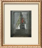 The Red Kerchief: Portrait of Mrs. Monet, c.1868-1878 Posters by Claude Monet