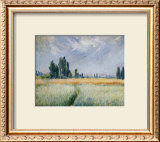 Wheatfield, 1881 Posters by Claude Monet