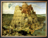 The Tower of Babel, c.1563 Prints by Pieter Bruegel the Elder