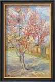Peach Tree in Bloom at Arles, c.1888 Poster by Vincent van Gogh