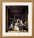 Las Meninas Framed Giclee Print by Diego Velázquez