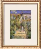 Garden at Vetheuil, c.1881 Art by Claude Monet