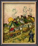 House and Figure, c.1890 Posters by Vincent van Gogh