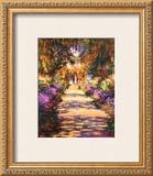 Il Viale del Gardino Poster by Claude Monet
