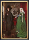 Portrait of Giovanni Arnolfini and his Wife, c.1434 Print by Jan van Eyck