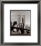 World Trade Center and Brooklyn Bridge Prints by Walter Gritsik