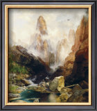 Mist in Kanab Canyon, Utah, 1892 Prints by Thomas Moran