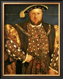 Henry VIII Framed Giclee Print by Hans Holbein the Younger
