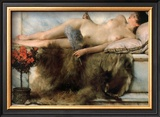 In the Tepidarium, 1881 Prints by Sir Lawrence Alma-Tadema
