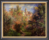 Gardens at Bordighera, 1884 Print by Claude Monet