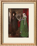 Portrait of Giovanni Arnolfini and his Wife, c.1434 Prints by  Jan van Eyck