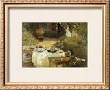 Le Dejeuner Posters by Claude Monet