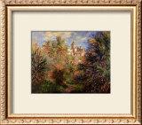 Gardens at Bordighera, 1884 Prints by Claude Monet