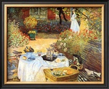 Le Dejeuner Art by Claude Monet