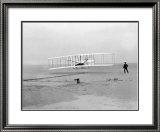 First Flight Framed Giclee Print