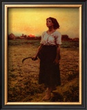 The Song of the Lark Prints by Jules Breton