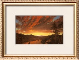 Twilight in the Wilderness, c.1860 Posters by Frederic Edwin Church
