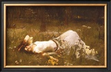 Ophelia, c.1889 Posters by John William Waterhouse