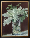 White Lilac in Glass Vase Art by Édouard Manet