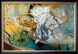 Lit et Deux Tables de Nuit Posters by Salvador Dalí