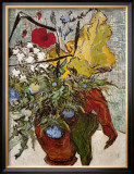 Vase of Poppies Posters by Vincent van Gogh