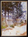 Corfu: The Terrace Prints by John Singer Sargent