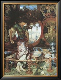 The Lady of Shalott. c.1889-92 Posters by William Holman Hunt
