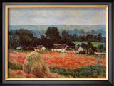 La Meule de Foin a Giverny Print by Claude Monet