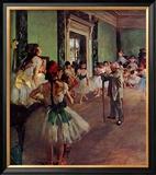 Dancing Class Poster by Edgar Degas