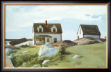Houses Of Squam Light Posters by Edward Hopper
