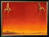 The Elephants, c.1948 Posters by Salvador Dalí