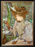 Mme. Honorine P. Prints by Henri de Toulouse-Lautrec