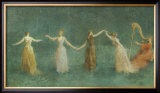 Summer, 1890 Prints by Thomas Wilmer Dewing