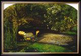 Ophelia Posters by John Everett Millais