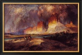 Cliffs of Upper Colorado River Posters by Thomas Moran