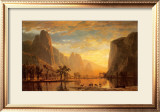Valley of the Yosemite Art by Albert Bierstadt