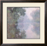 The Seine at Giverny, Morning Mists, 1897 Posters by Claude Monet