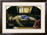 The Death of Chatterton Art by Henry Wallis