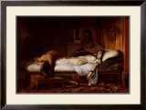 The Death of Cleopatra Poster by Jean André Rixens