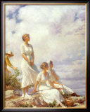 Summer Clouds, 1917 Prints by Charles Courtney Curran